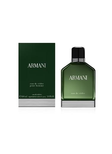 Armani Eau De Cedre EDT 100 ml Erkek Parfüm Renksiz